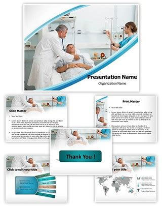 professional intensive care editable powerpoint template