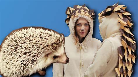 diy hedgehog costume  minute youtube