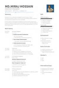 Piping Designer Sle Resume by Assistant Ing 233 Nieur Exemple De Cv Base De Donn 233 Es Des Cv De Visualcv