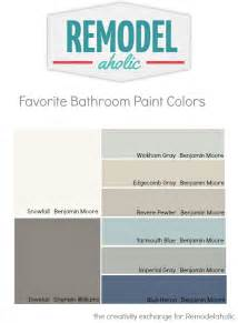 choosing paint colors remodelaholic tips and tricks for choosing bathroom