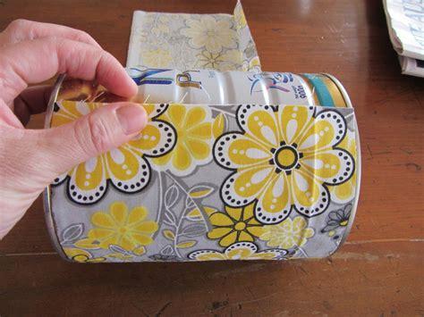 fabric crafts unique thom haus handmade fabric covered formula tins for