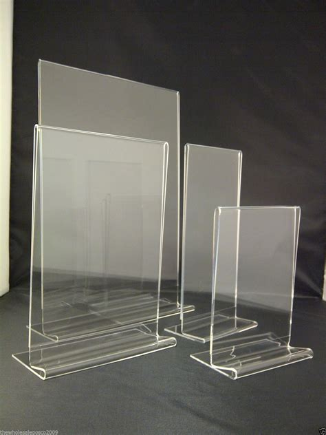 table counter menu holder and display stands wholesalepos