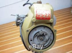 Tas Motor Outboard vintage tas motor qs 22 tob 12 boat 22cc outboard motor
