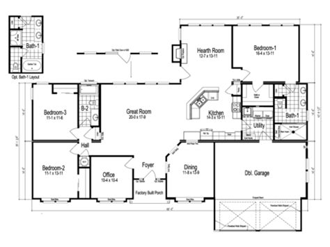 tuscany floor plans the tuscany manufactured home floor plan or modular floor