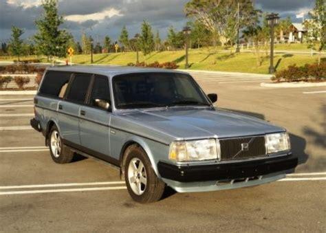 1991 volvo 240 wagon buy used 1991 volvo 240 station wagon beautiful shape low
