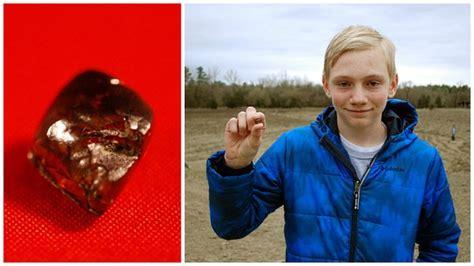 teenager 14 finds 7 44 carat diamond in an arkansas state park the photos arkansas teenager finds 7 44 carat superman s