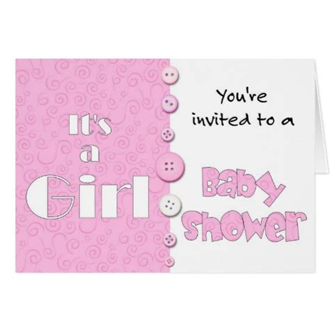 You Re Invited To A Baby Shower by It S A You Re Invited To A Baby Shower Card Zazzle