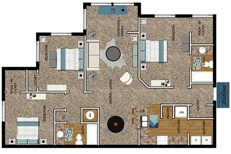 3 Bedroom Apartments In Ga by 3 Bedroom Apartments In Decatur Ga 2 3 4 Bedroom Student