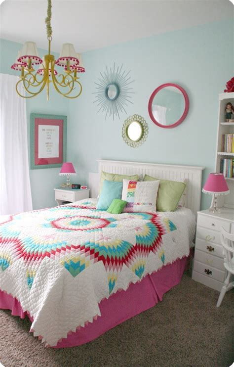 girls room colors colorful teen girls bedroom design dazzle