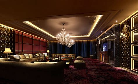 Room At The Top Of The Stairs Karaoke by Rendering Of Luxury Ktv Room With Fireplace