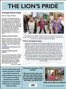 Pta Newsletters Lake Louise Pta Pta Newsletter Templates In Word
