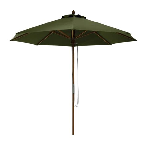 Hton Bay Belleville 8 Ft Patio Umbrella In Tan Umbrella For Patio