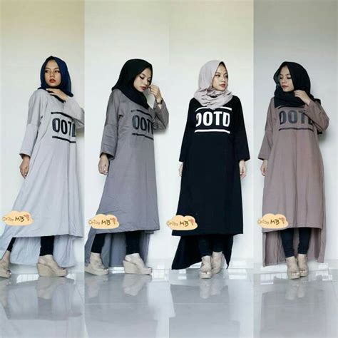 jual harga ootd tunic ori mb supplier baju zero2fifty