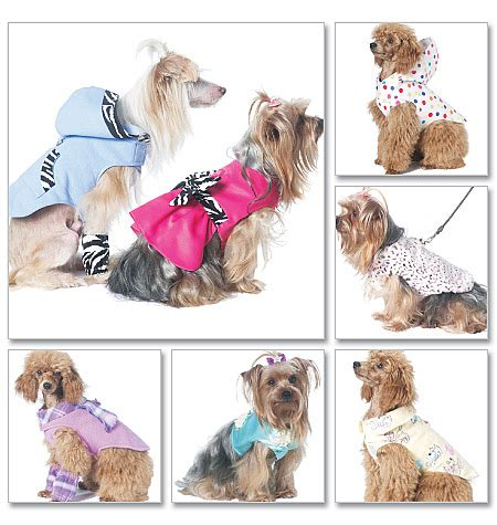 pattern for dog coat with legs mccall s 6218 pet clothes