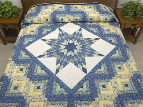 Amish Lone Quilt by Lone Log Cabin Quilt Great Cleverly Made Amish