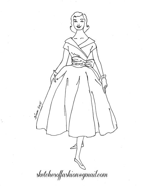 the dress book coloring book collette s dresses volume 4 books fashion design a fashion sketch colouring pages fashion
