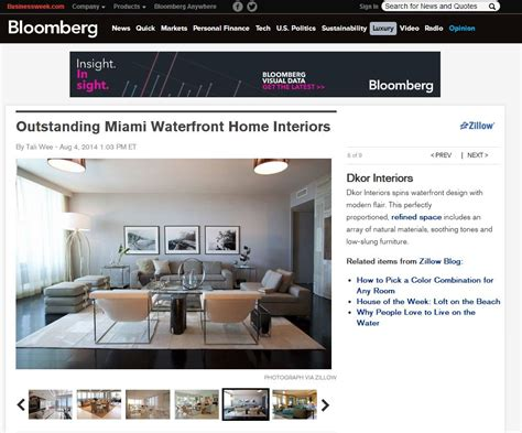 project feature weathered in miami beach trace blog dkor press featured on famed news institution bloomberg