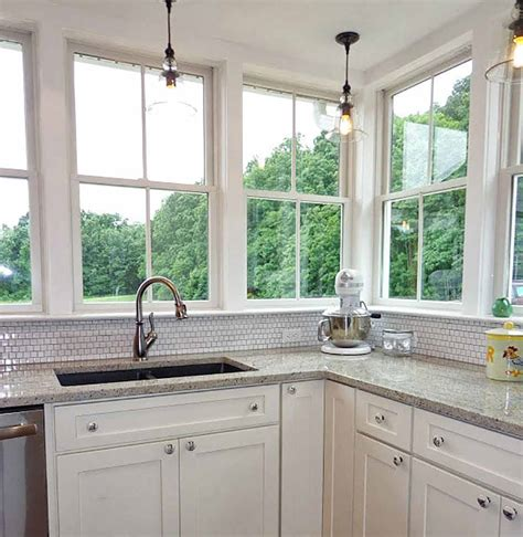 Kitchen Design With Windows Bringing The Outdoors In Kitchen Design