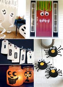Halloween Decorations Craft Ideas Mollymoocrafts Halloween Crafts Decorations Garlands