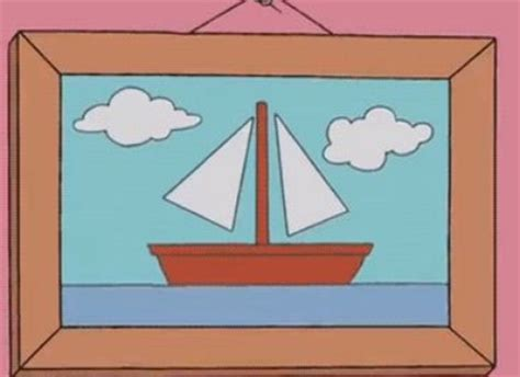 simpsons boat picture lego ideas the simpsons sailboat painting