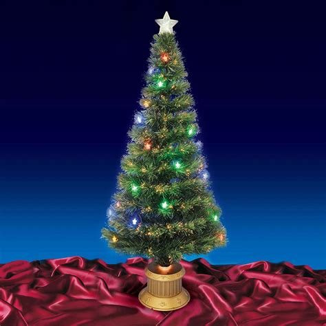 beautiful 6ft 180cm green fibre optic christmas tree