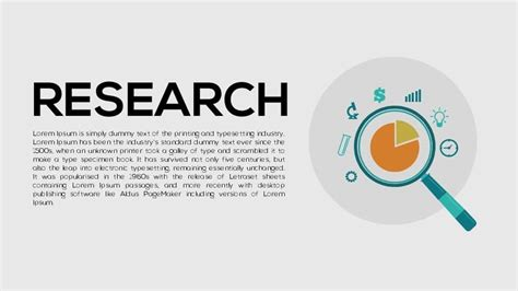 Research Metaphor Powerpoint And Keynote Template Slidebazaar Research Powerpoint Templates
