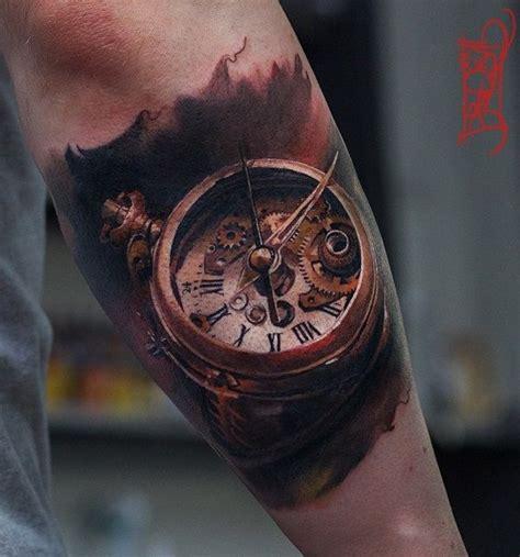 Tattoo 3d Watch | 3d old pocket watch tattoo 100 awesome watch tattoo