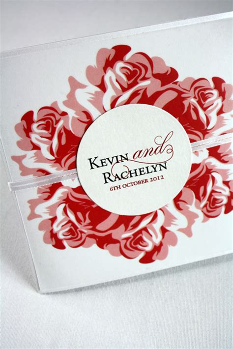 rose themed cards custom designed rose invitations pocadot invitations