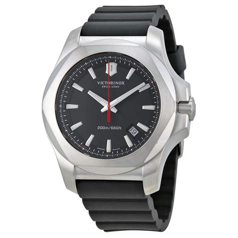 Swiss Army Sa2020 Silver White Original victorinox swiss army inox black black rubber mens 241682 1 ebay