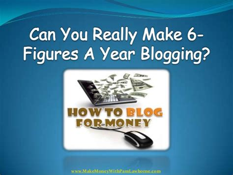 i make 35000 a year can i buy a house can you really make 6 figures a year blogging find out the answer