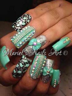imagenes de uñas decoradas verde jade u 241 as acrilicas color verde agua