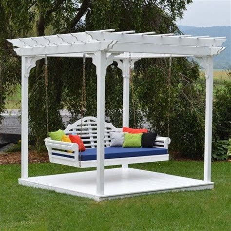 cedar pergola swing bed 17 best images about swing beds on pinterest traditional