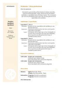 Plantilla De Curriculum Vitae Cronologico Inverso Modelos Y Plantillas De Curr 237 Culum Vitae Joblers