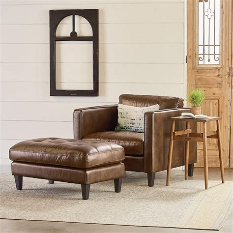magnolia home furniture magnolia home by joanna gaines dapper upholstered chair