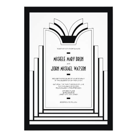 deco wedding invitations templates wedding invitation wording wedding invitation templates