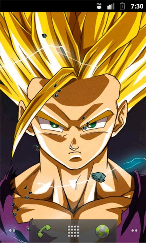 dragon ball super saiyan android live wallpaper apk super saiyan live wallpaper 1mobile com