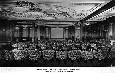 film titanic länge the first class lounge turn a cinema in early 20 s year