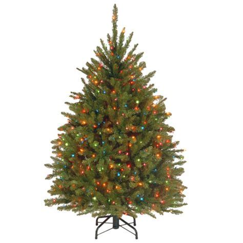 4 5 dunhill tree with 450 multi color lights shopko