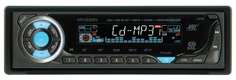 format cd player auto vr3 cd player mp3 wma rds car stereo receiver 220fd