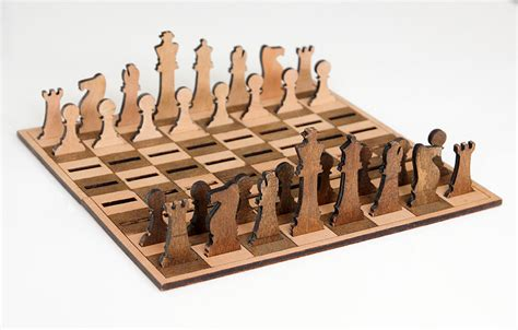 minimalist chess set minimalist wooden chess set with leather cover by ilemleathergoods