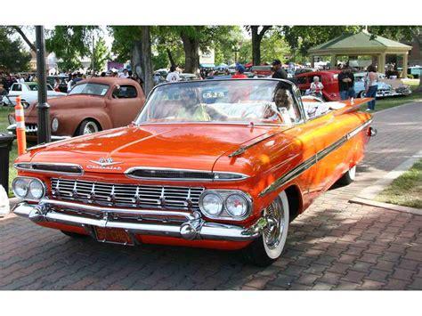 car for sale chevrolet 1959 chevrolet impala for sale classiccars cc 877976