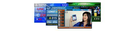 Software Mesin Antrian software mesin antrian baru pada tilan touchscreen led tv dan client