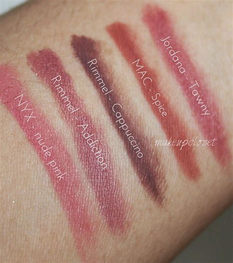 Jafra Automatic Lip Liners Coffee rimmel lip liner review jidimakeup