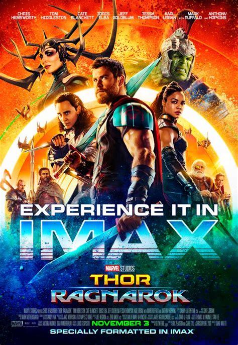 film marvel wiki ita new ish imax poster for thor ragnarok bleeding cool