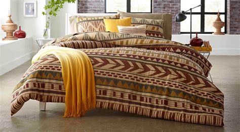 attention  piece comforter set tribal stripe home bed bath bedding comforters