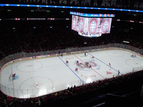 centre bell section nord compte rendu du match des canadiens au centre bell
