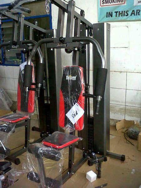 Alat Multi Station Home Hg 001 2 Sisi Pro Total Fitness harga home 1 sisi tiang besar