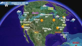 Usa Map Weather by United States Usa Weather Forecast From Weather 2016 Car