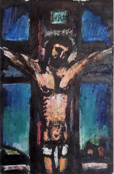 georges rouault crucifixion    lewisohn