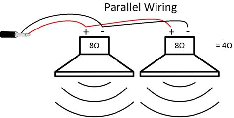 speakers in parallel diagram new wiring diagram 2018